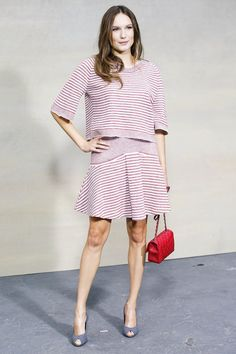 Chanel Spring 2015 Ready-to-Wear Front Row Celebrity Photos - Vogue