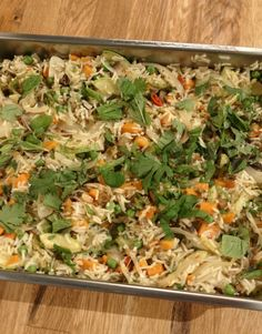 Christmas Foods, Fried Rice, Fries, Ethnic Recipes, Ideas, Christmas Lunch, Thoughts, Nasi Goreng, Stir Fry Rice