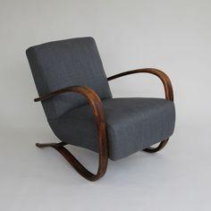 I LOVE this chair...Jindrich Halabala Armchair