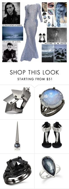 """""""✘ Do you believe that you can walk on water? Do you believe that you can win this fight tonight?✘"""" by blueknight ❤ liked on Polyvore featuring Vivienne Westwood, Bavna, Christian Louboutin, Giuseppe Zanotti, Ippolita and Christian Dior"""
