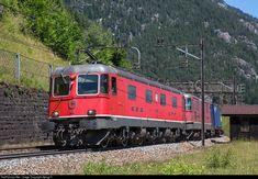 Location Map, Photo Location, Swiss Railways, Electric Locomotive, Switzerland, Trains, Image, Train