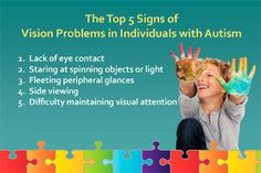 Autism & Vision - College of Optometrists in Vision Development (COVD)