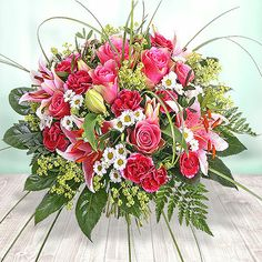 Verführung in Pink! #Valentins #Blumen #Geschenke #Deko