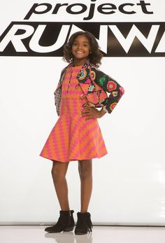 Project Runway Season 13 Rate the Runway Amanda Valentine Episode 9 Look - love the how the dress flows