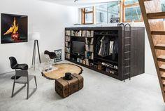 収納性抜群のウォークインなロフトベッド・ボックス「Living Cube」 | roomie(ルーミー)