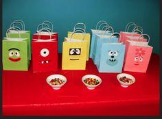 yo gabba party bags