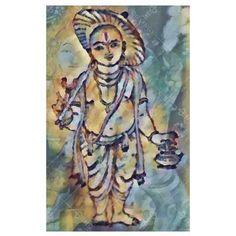 Vamana Avatar - Digital Print / Canvas / Large(24''x36'') + Roll Only