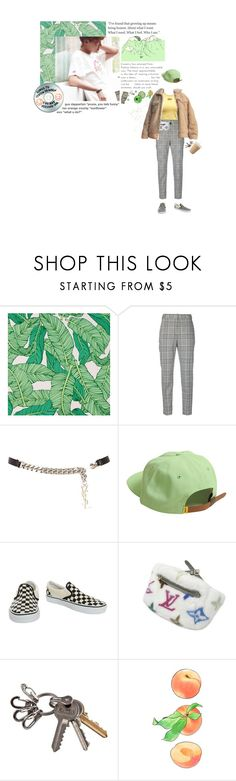 """you give but you cannot take love"" by hobibb ❤ liked on Polyvore featuring Chasing Paper, Alexander Wang, Yves Saint Laurent, Vans, Louis Vuitton and Sharpie"