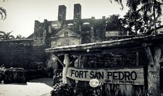Fort San Pedro - a 1738 military defense structure. Cebu City, Philippines, Military, San, Pictures, Photos, Cebu, Grimm, Military Man