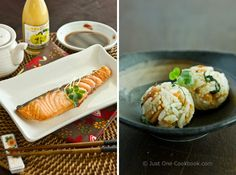 Winner of CBS SF Most Valuable Blogger Awards and Broiled Salmon and Salmon Onigiri (Rice Ball) | Easy Japanese Recipes at JustOneCookbook.com