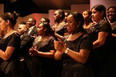 Songs of Solomon Gospel Choir of New York City's Harlem neighborhood. (Photo by Marti Stone)