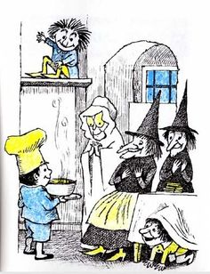 """From """"Chicken Soup With Rice"""" by Maurice Sendak"""