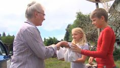 Retired Great-Grandma Spent The Summer Bringing Lunch To Low-Income Kids