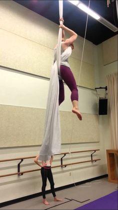 Dive Roll - Aerial Silks