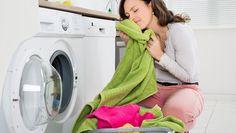 Så här får du bort äcklig lukt från handdukar