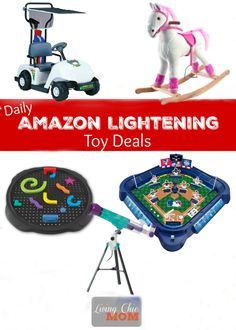 Amazon Daily Lightning Toy Deals 2015 - Living Chic Mom