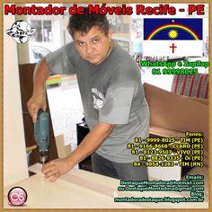Bernardo é um Montador de Móveis Com 20 Anos de Estrada, Atende em Pernambuco, Rio Grande do Norte,Grande Nordeste  e Outras Localidades do Brasil, Serviços Residenciais e Empresariais. WhatsApp e ZapZap +55 81 99998025 Montador de Móveis