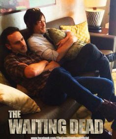 The Walking Dead - Awww... what a bunch of softies.... :)