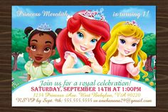 Disney Princesses - Before the Once Upon a Time Featuring: Little Tiana Little Ariel Little Aurora ©Disney -- All the characters, and images are origina. Disney Princesses - Before the Once Upon a Time Aurora Disney, Disney Png, Cute Disney, Jessie Disney, Disney Magic, Little Disney Princess, Disney Princess Pictures, Disney Princess Party, Disney Girls