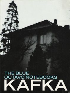 kafka blue octavo notebooks - Google Search