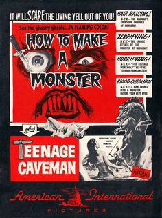 How to Make a Monster / Teenage Caveman