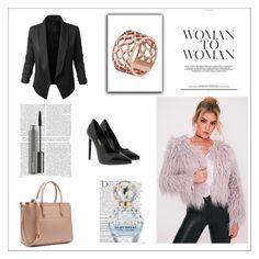 """Bez naslova #2"" by sabinanejla ❤ liked on Polyvore featuring Tartesia, Jupe de Abby, Yves Saint Laurent, Balmain, Marc Jacobs and MAC Cosmetics"