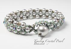 Timeless Crystal Pearl Bracelet