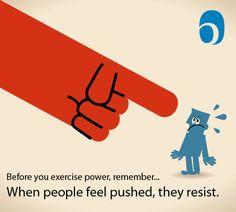 Push = Resist