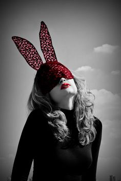 Masked bunny magical trippy trip