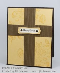 Old Rugged Cross Easter Card by jillastamps - Cards and Paper Crafts at Splitcoaststampers