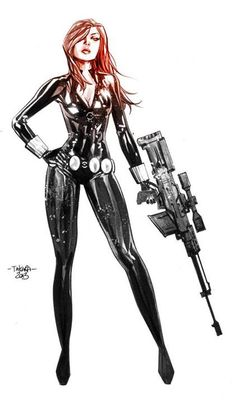Black Widow by Marcio Takara *