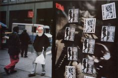 Jeff Mermelstein Untitled (Santa with Sex Cards, New York City), 1990