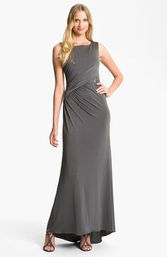 JS Boutique Embellished Jersey Gown available at #Nordstrom