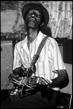 Hound Dog Taylor was born as Theodore Roosevelt Taylor in Natchez, Mississippi on April 12th, 1915. Happy Birthday, Hound Dog Taylor!