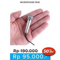 New  Microphone dengan ukuran mini yang berfungsi untuk karaokean di app SMULE/SING dan bisa untuk telponan.  Paket terdiri dari : - Microphone mini - Busa mic - Kabel Sambungan - Jack Audio - Penjepit untuk taruh di baju  Harga 95.000  Order  Line : AZZAGADGET  Whatsapp : 081357776262  WAJIB menggunakan format order  nama :  no hp :  alamat lengkap :  pesanan :  Tidak pakai format akan slow response! #microphonemini #microphoneminimurah #microphoneminitermurah #microphoneminilucu…