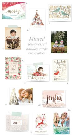 Enter to win $100 credit to Minted this holiday season!