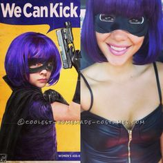 Sexy Homemade Costume Idea: Don't Mess with Hit Girl!… Enter the Coolest Halloween Costume Contest at http://ideas.coolest-homemade-costumes.com/submit/