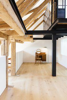 CJWHO ™ (Farmhouse Renovation, Moorenweis, Germany by Buero...)