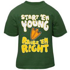 Oregon Ducks Infant Start 'Em Young T-Shirt - Green