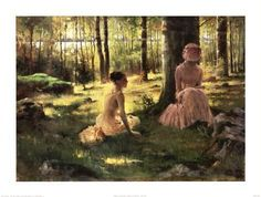 Shop for ''Under the Birches'' by Albert Edelfelt Fairfield Art Publishing Art Print x 24 in. Get free delivery On EVERYTHING* Overstock - Your Online Art Gallery Store! Helene Schjerfbeck, Jean Leon, Woman Reading, Art Studies, Vincent Van Gogh, Beautiful Paintings, Oeuvre D'art, Watercolor Art, Fine Art Prints
