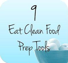 Eat Clean Food Prep Tools