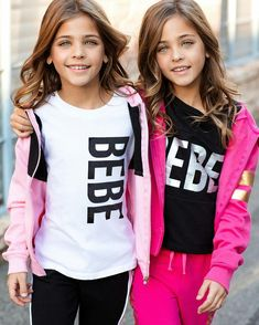 "Today, the Clements twins are eight, and have indeed just been named ""the world's most beautiful twins"", with hundreds of brands now seeking them out as models. Here's what the girls look like now. Twin Models, Young Models, Child Models, S Models, Twin Girls, Twin Sisters, Twin Babies, Little Girl Models, Cute Twins"