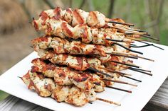 Herbed Chicken Skewers