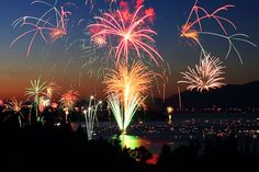 of July at Flathead // always the best party Flathead Lake, Best Part Of Me, Fireworks, Montana, 4th Of July, Ceiling Lights, Places, Summer, Beautiful