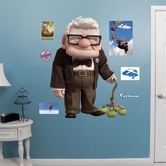 Disney / Pixar UP Wall Decals by Fathead, Multicolor