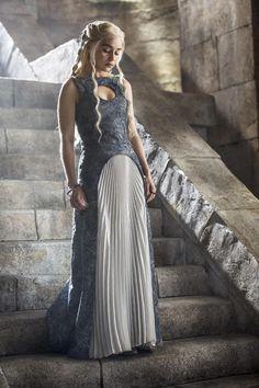 Emilia Clarke - Daenerys Targaryen looking every inch a queen