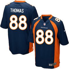 Nike Game Nike NFL Men's Denver Broncos #88 Demaryius Thomas Team ...