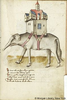 Elephant and Castle | Literary | Austria, probably in Tyrol | last quarter of the 15th century