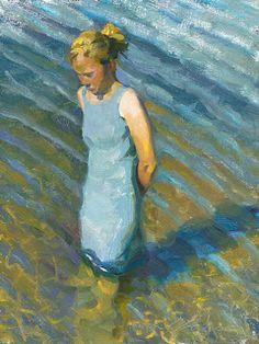 marine oil paintings: Jeffrey T Larson - American