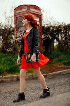 Red Phone Booth ~ Your Choice For Dress